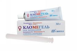 Кломегель для лечения молочницы