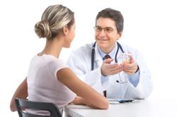 Прием у врача при впч