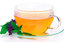 Шалфейный чай  для снижения потоотделения