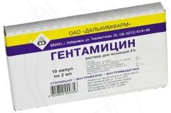Гентамицин для лечения воспаленной уретры