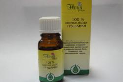Эфирное масло грушанки при гинекологических заболеваниях