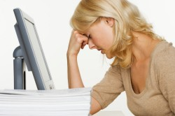 Стресс - причина кровяных выделений при овуляции