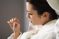 Повышение температуры при разрыве кисты яичника