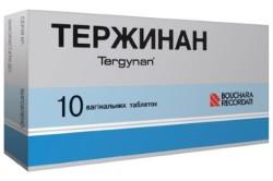 Тержинан для лечения кольпита
