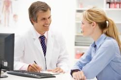 Консультация врача при выборе упражнений